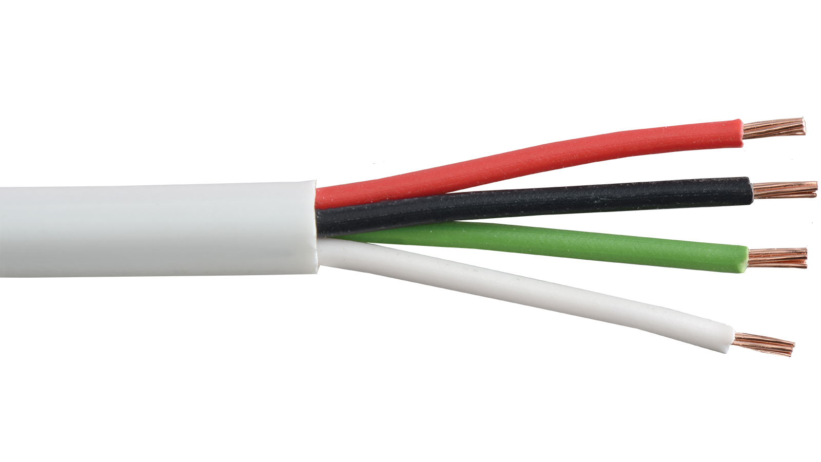 4 Awg Cable : C p wht commercial grade general purpose awg