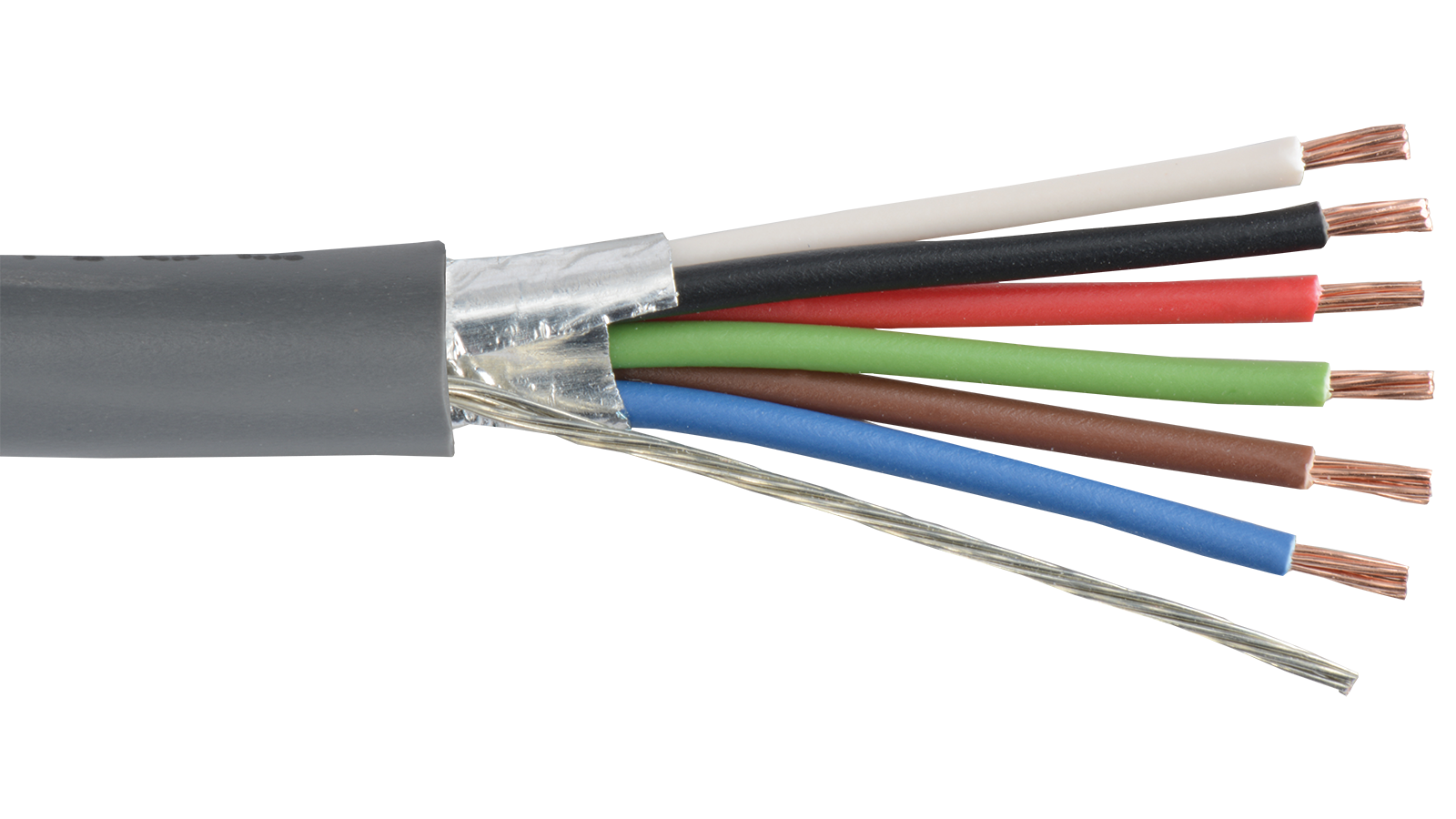 Low Voltage Wire Shielded Cable : C sh gry commercial grade general purpose awg