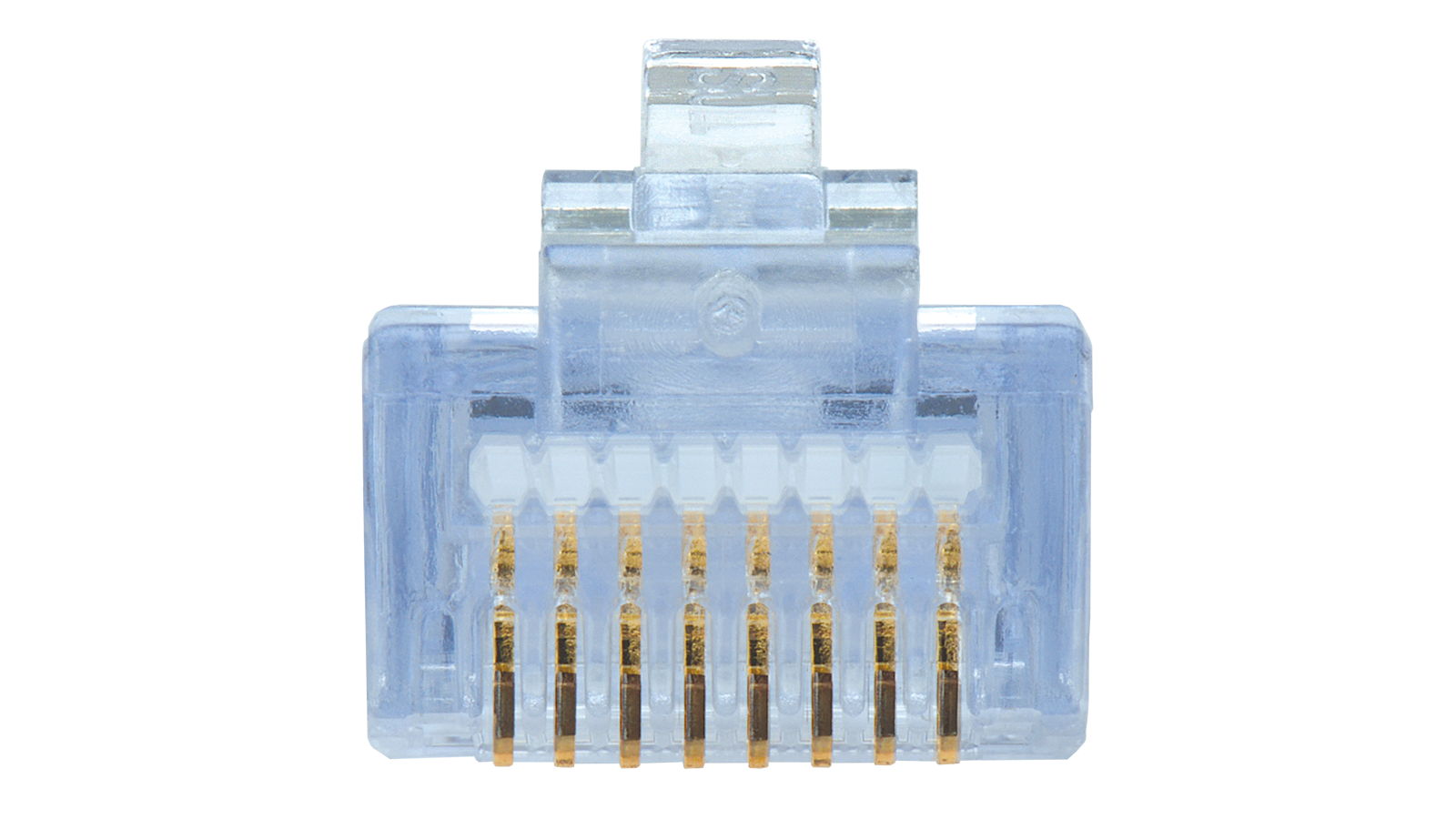100 011lw Category 6 Ez Rj45 Plugs In A 30 Pack With Strain Relief Barel Double Female To