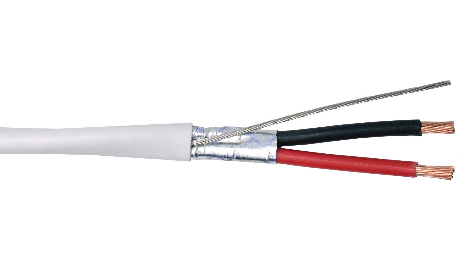 16 2c psh wht commercial grade general purpose 16 awg 2 commercial grade general purpose 16 awg 2 conductor plenum shielded cable