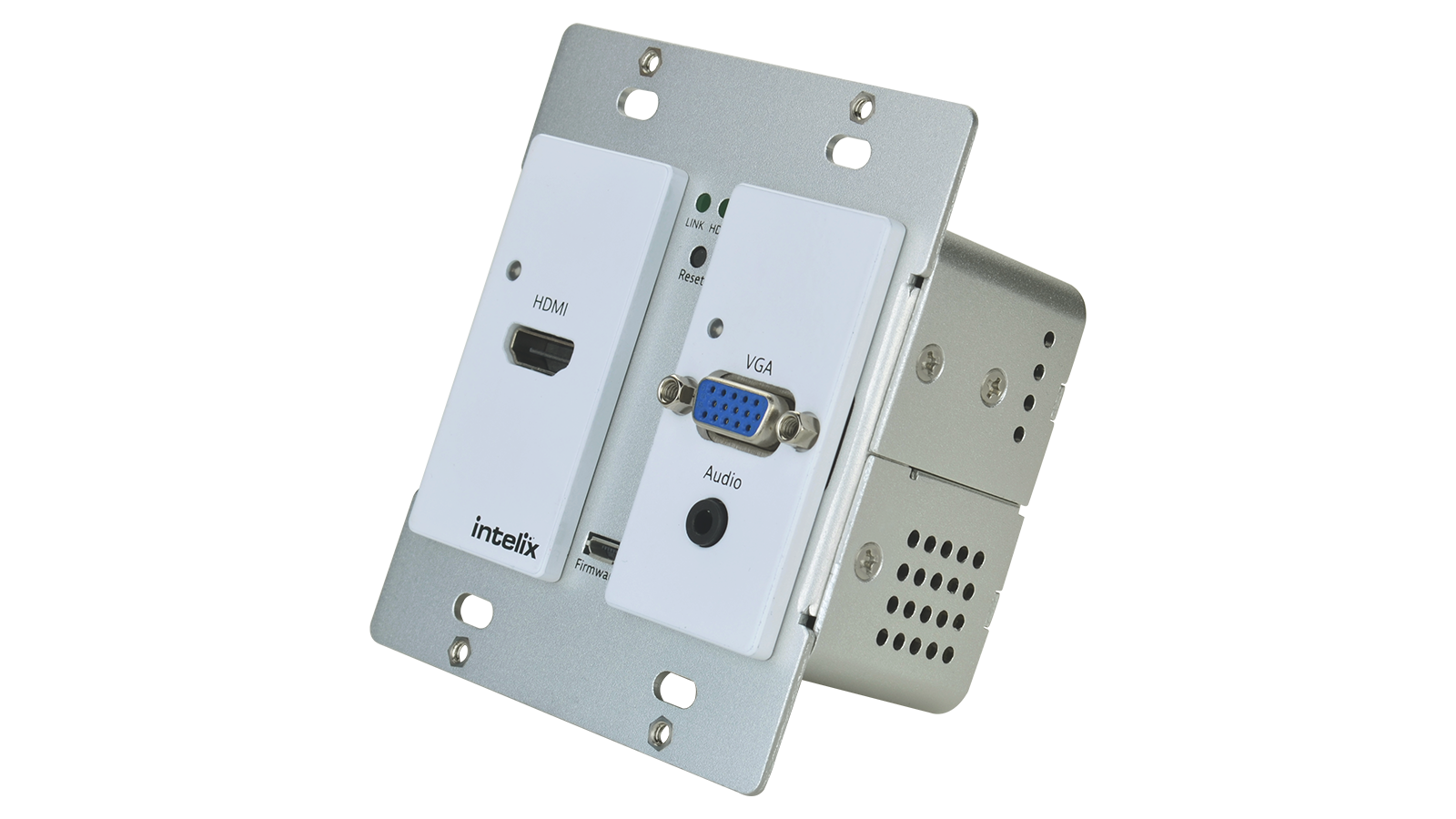 AS-1H1V-WP-W - HDMI/VGA Auto-Switching Wallplate with VGA Scaling ...