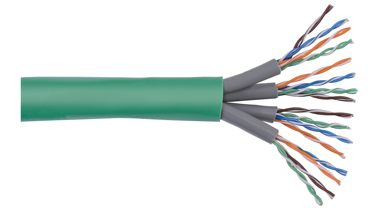 CAT5E-4C-J - Structured Solutions 4 x U/UTP Category 5e jacketed ...