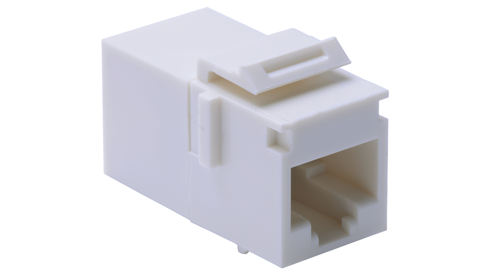 Cp 8 Wh Keystone Style Rj45 In Line Coupler For Category 5e U Utp Lan Straight Ethernet Cable Cat 5 Wiring Diagram