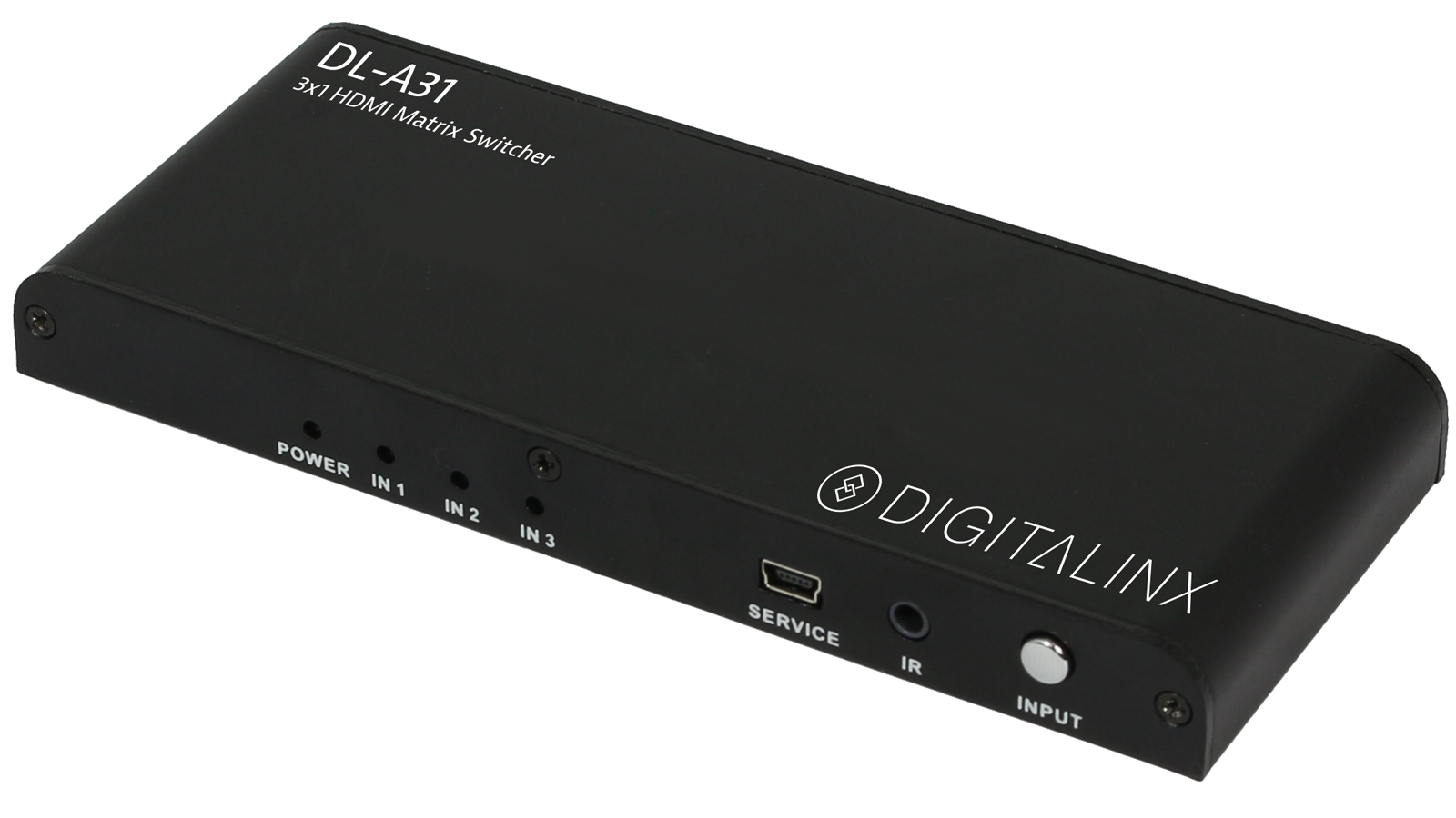 Dl A31 Digitalinx Brand By Liberty Hdmi 3x1 Matrix Switch Adjustment Power Supply Values 12515v Max Current 05 Amps