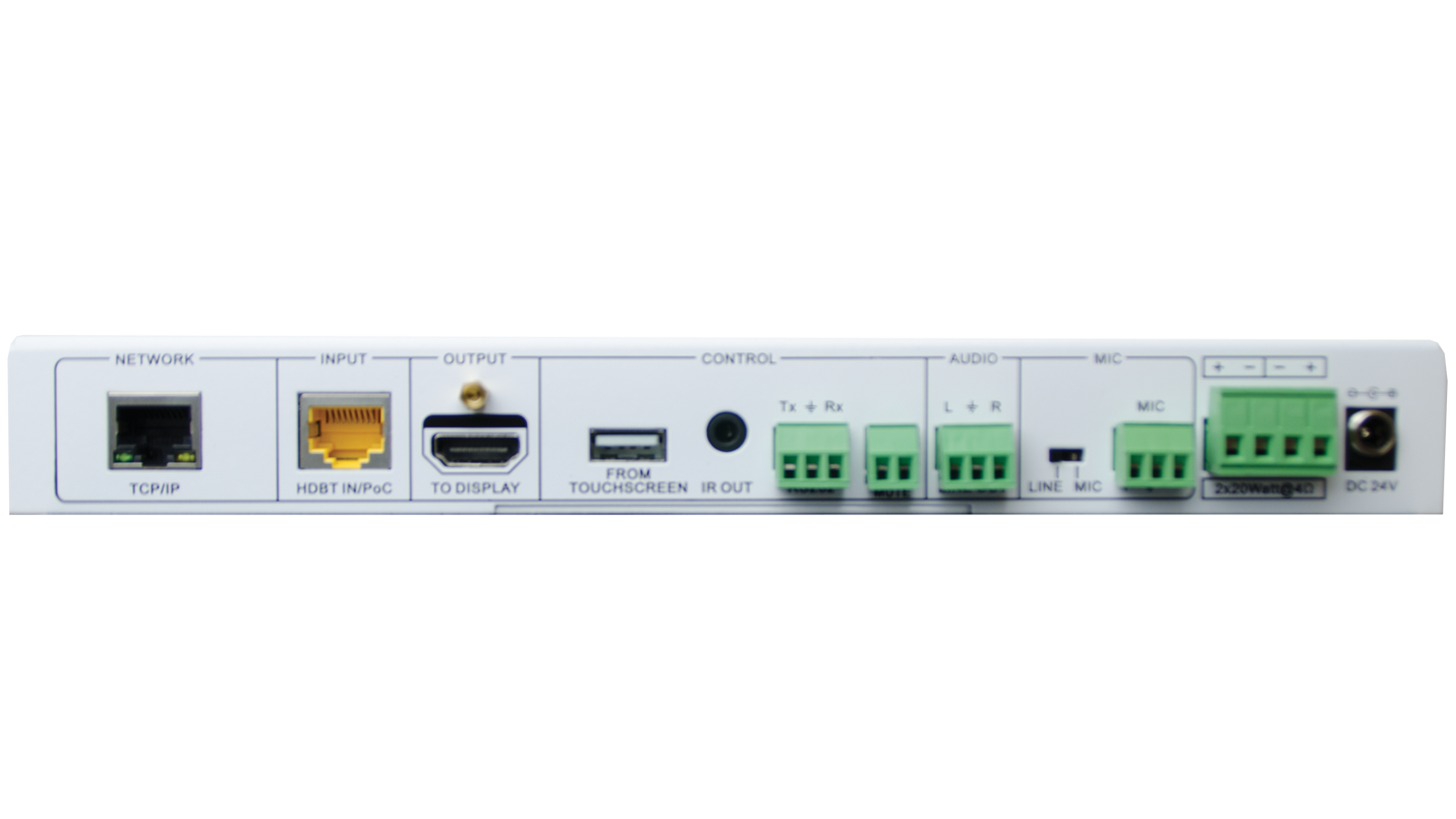 Edu Kit 001 Hdmi Av Distribution And Control System Image Of Home Command Center Structured Wiring Panel With 1x8 Coax