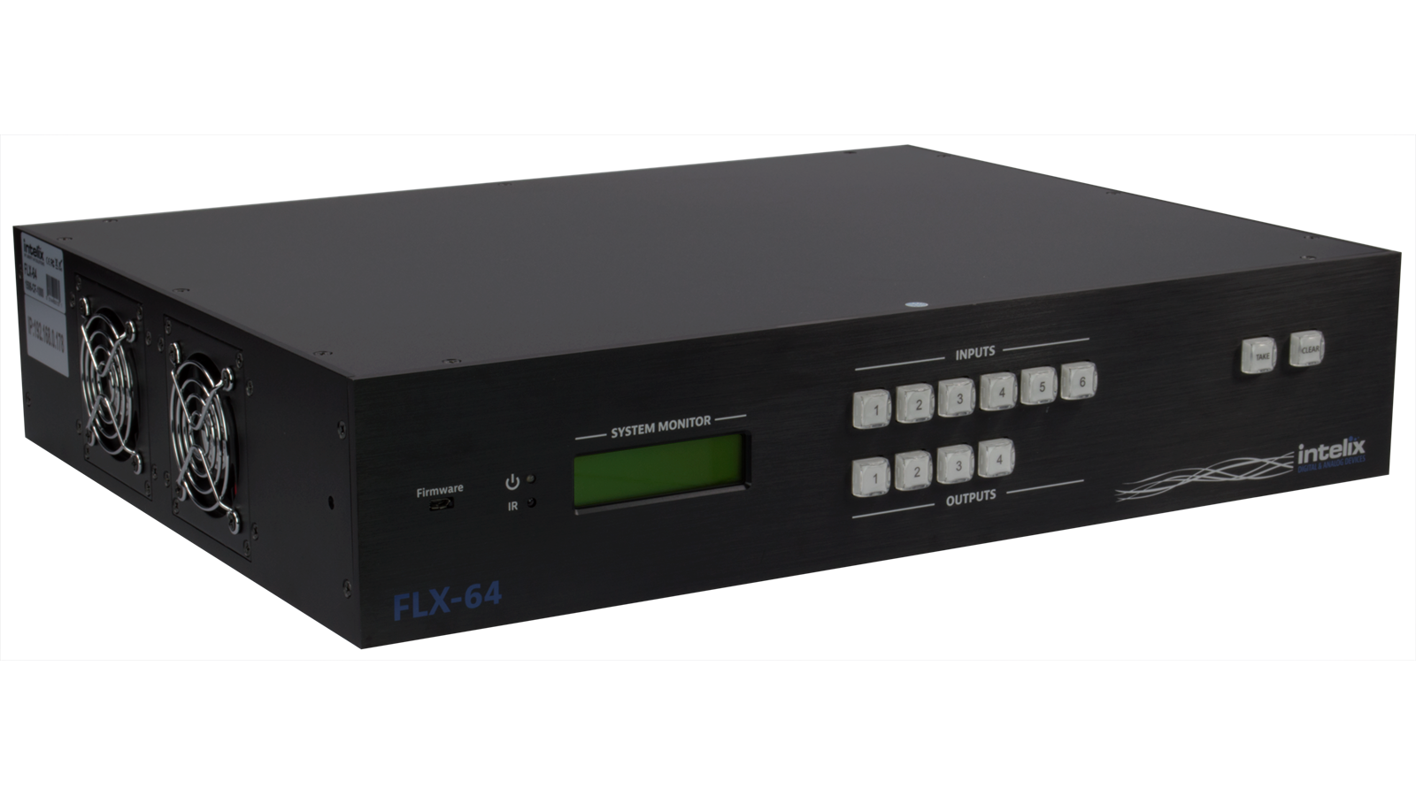 FLX Input Output HDMIHDBaseT Matrix Switcher - Conference table hdmi port
