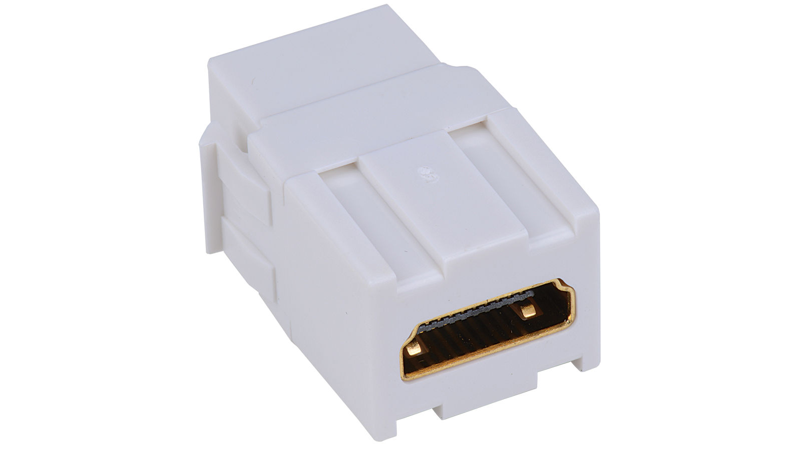 Iskm Hd Wh Keystone Compatible Hdmi Connector Pass Through Inserts Innovative Circuit Ict120124a Comm Series 120vac 12vdc 4 Amp