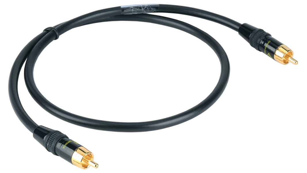 High Resolution RCA male to RCA male Composite Video cable