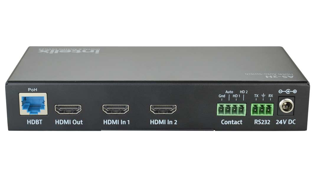 AS-2H - Dual HDMI Auto-Switcher with HDMI & HDBaseT Output