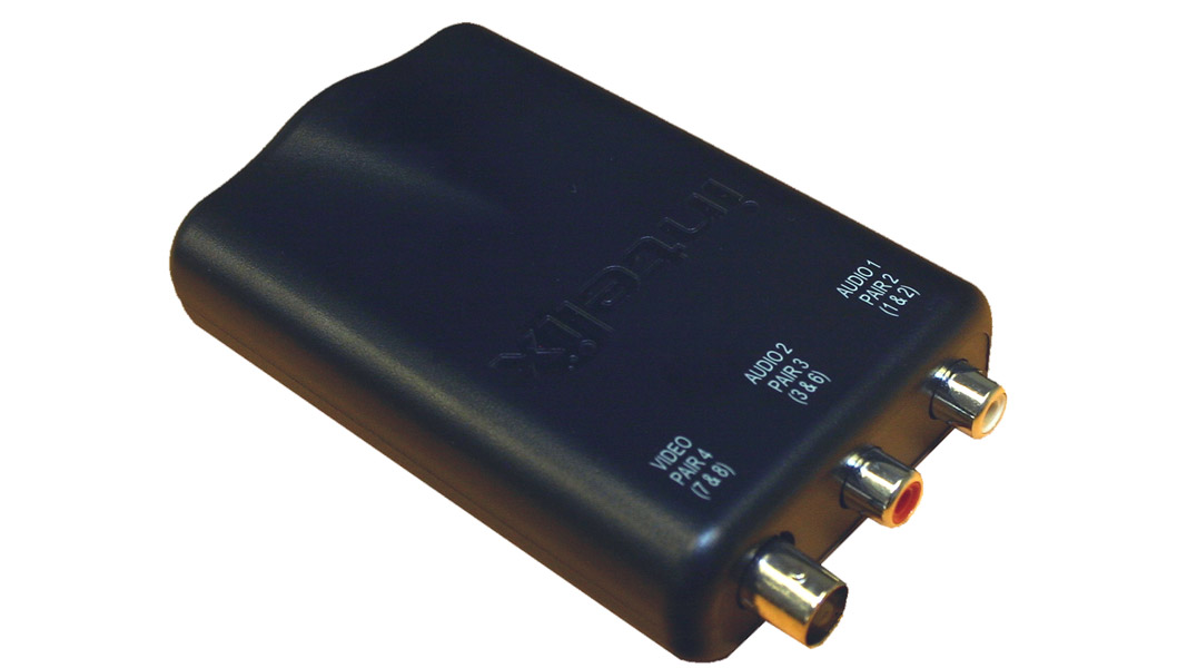 AVO-V1A2-F - Composite Video & Analog Stereo Audio Balun