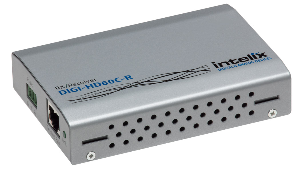 DIGI-HD60C-R - HDBaseT HDMI Over Twisted Pair Receiver with power and control