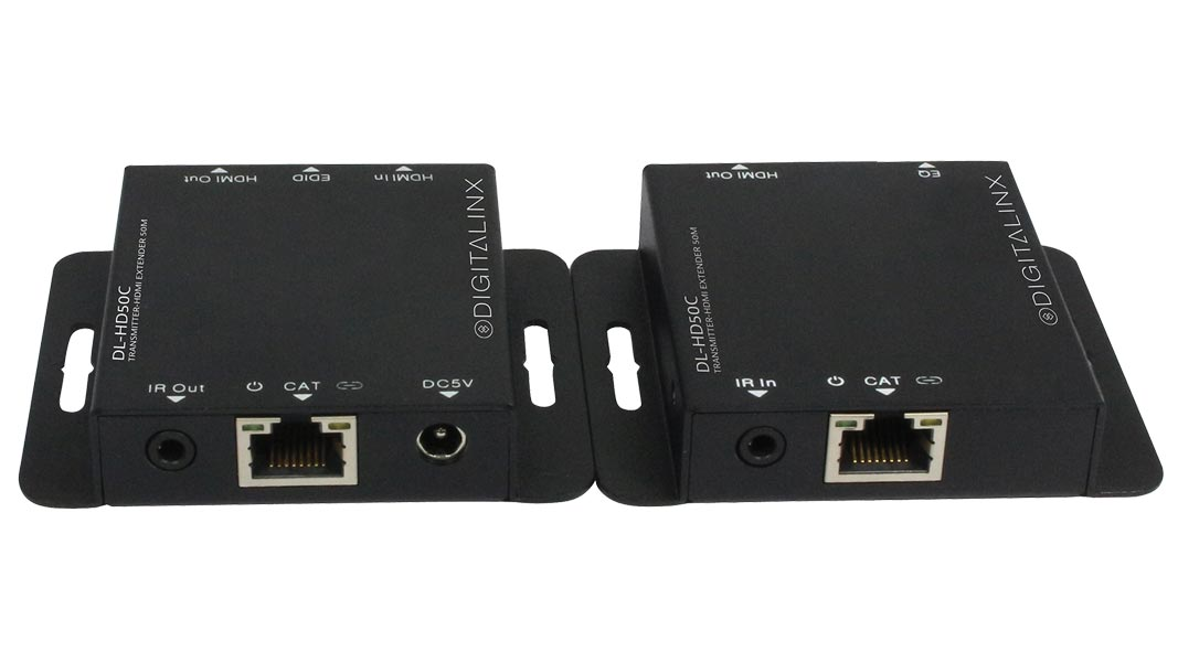 DL-HD50C - HDMI over single Cat 50m (150') extender set