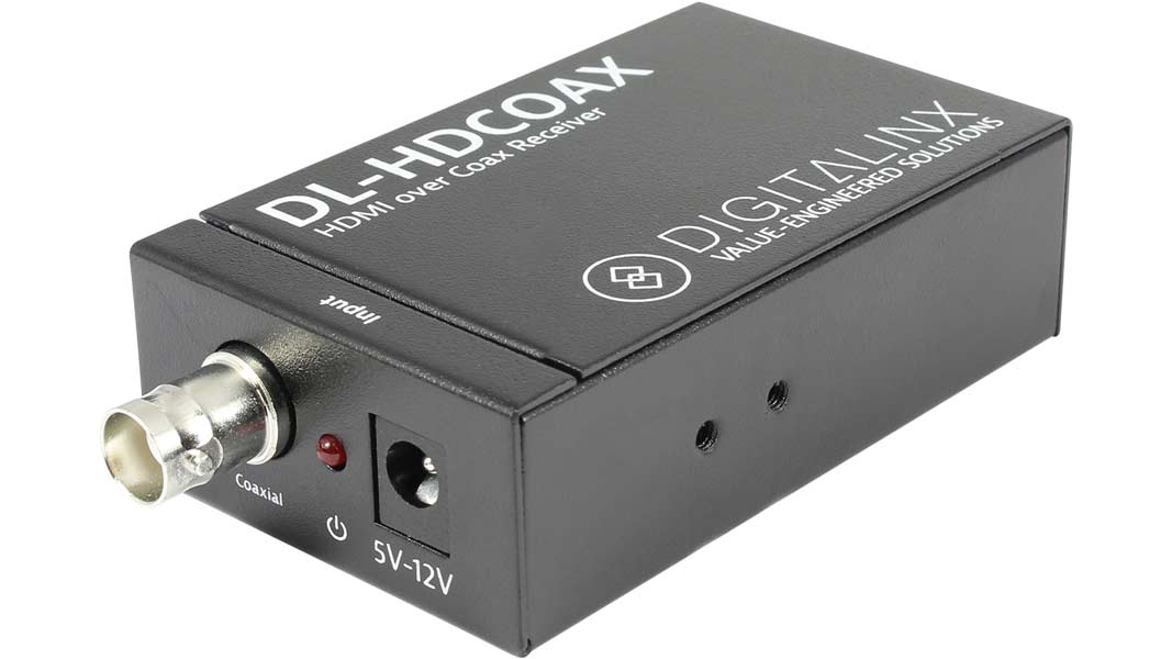 DL-HDCOAX - HDMI and IR extension over RG6/RG59