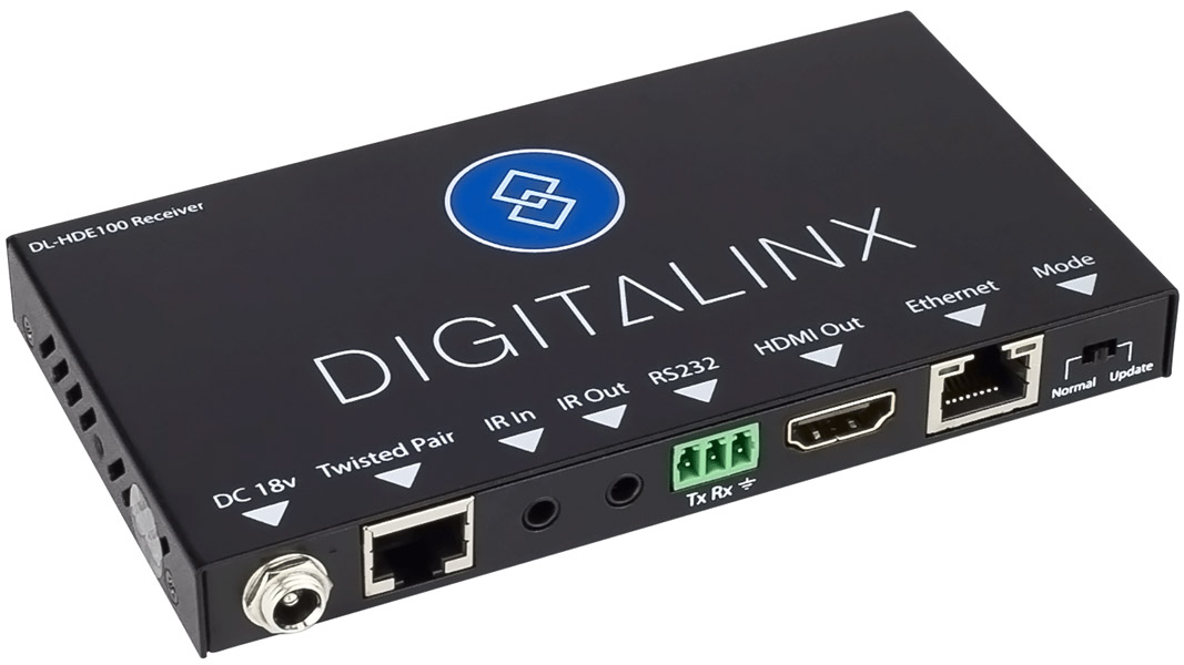 DL-HDE100 - Digitalinx HDMI HDBaseT Extension Set w/ Control & Ethernet