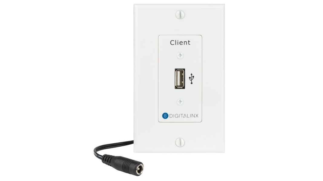 DL-USB2-WP-C - USB 2.0 Hi-Speed Twisted Pair Extender WP Client