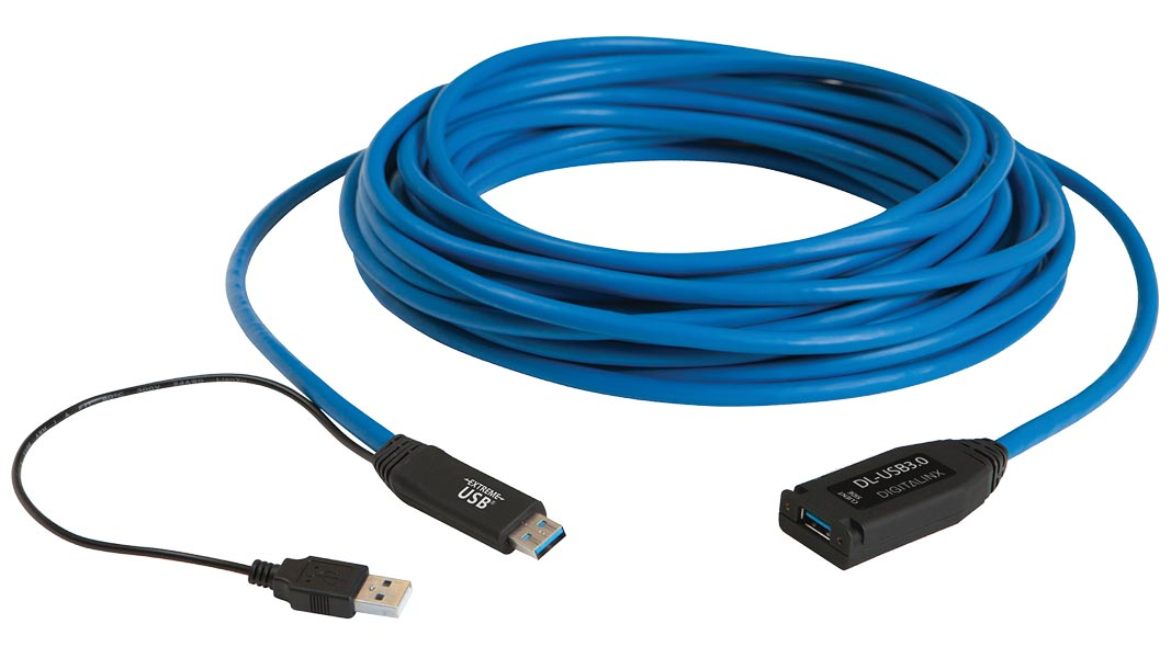 DL-USB3.0 - DigitaLinx 15 m USB 3.0 Active Extension Cable