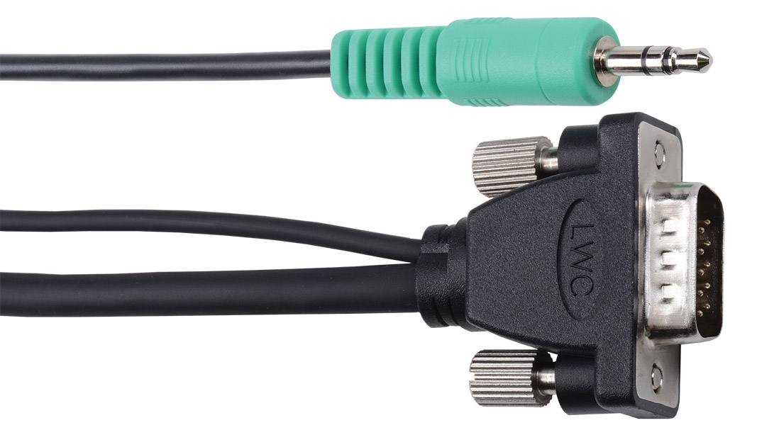 E-MVAM-M-6 - Micro VGA Cable solutions without ferrites