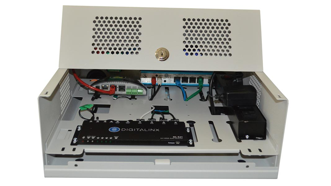 FLEXBOX-WH - Flexible Plenum Rated A/V Solutions Enclosure System