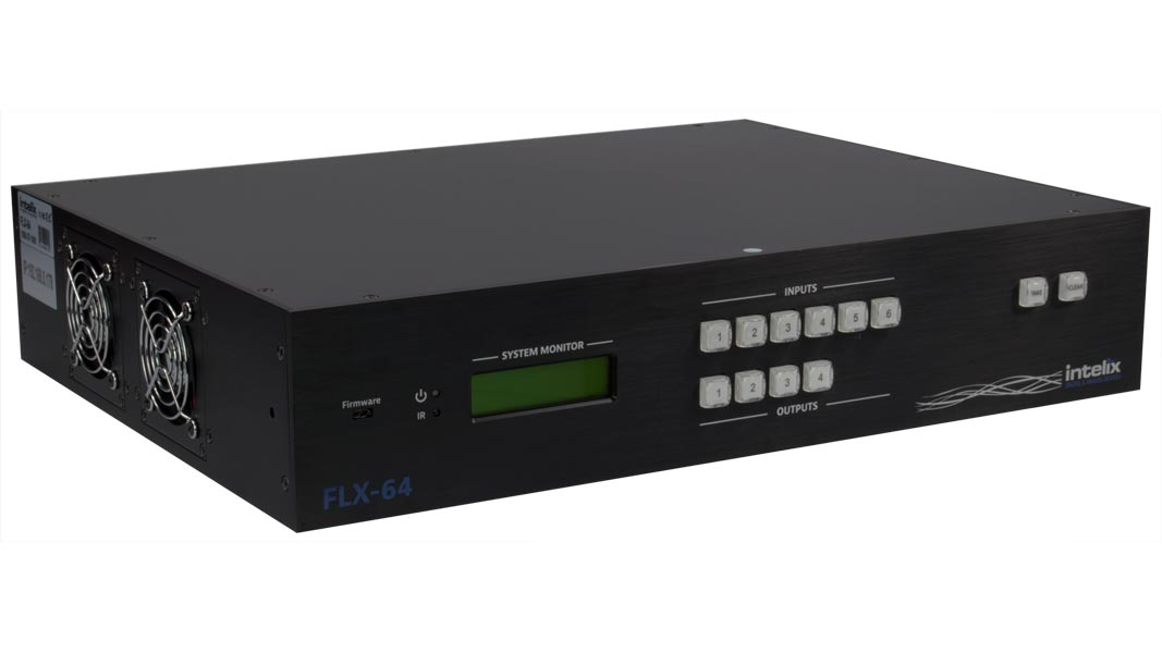 FLX-64 - 6 Input, 4 Output HDMI/HDBaseT Matrix Switcher