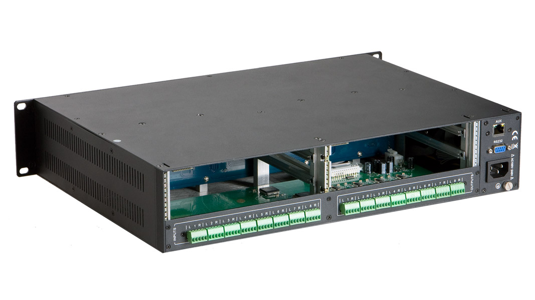 FLX-8X8A - Flexible Card-Based Matrix Switcher - 8 Input x 8 Output