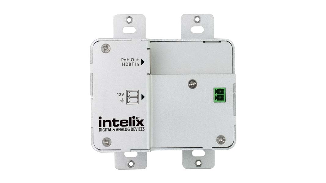 INT-HDX100-RXWP - In-Wall, Recessed Face, 4K HDBaseT 100m receiver