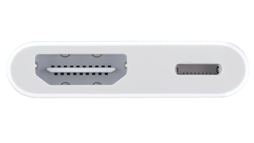 MD826AM/A - Apple Certified Adapter Lightning (M) to HDMI (F) and Lightning (F) to power device