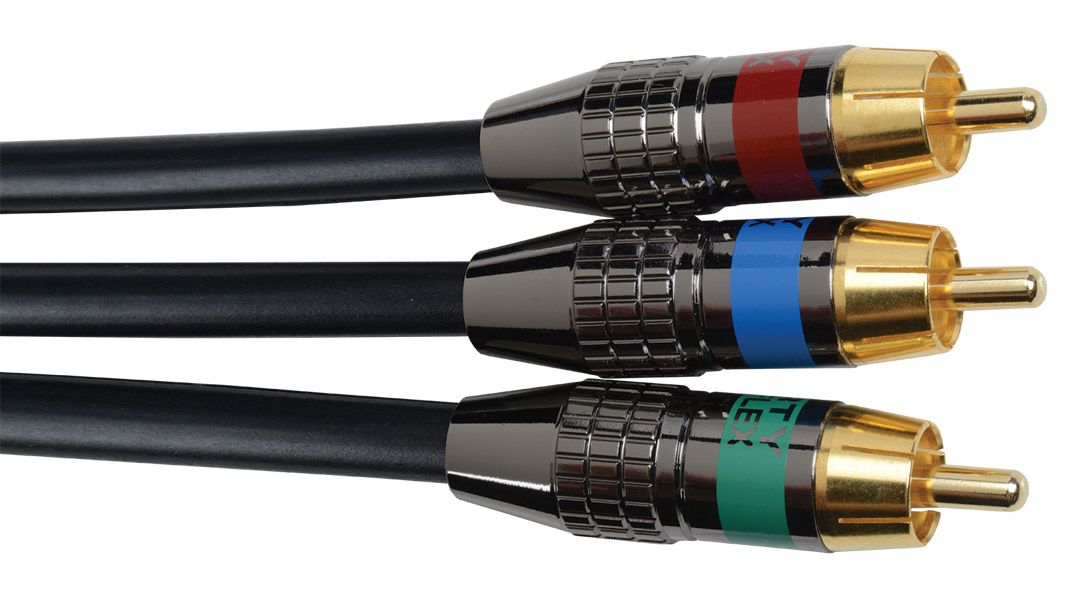 Liberty Z250 Triplex RCA Component Video cable