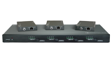 4X4 4K HDBT Matrix Switch kitted with 3 HDBaseT PoE receivers - 4X4 4K HDBT Matrix Switch kitted with 3 HDBaseT PoE receivers