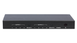 4x2 4K HDMI Matrix Switch with audio de-embedding and IR and pushbutton control - 4x2 4K HDMI Matrix Switch with audio de-embedding and IR and pushbutton control