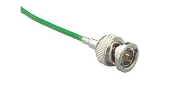 112491-10 - BNC plug for Mini High Resolution Coaxial cable
