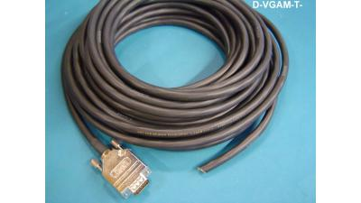 D-VGAM-T-50 - Liberty Manufactured Plenum rated VGA male to non ...