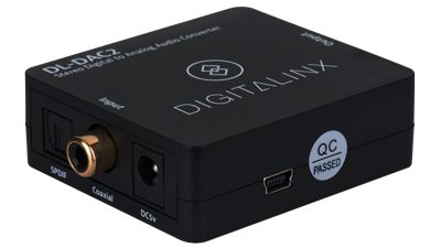 Digital Audio to Analog Audio Converter/Decoder