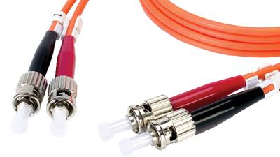 DMM5STST-001M - Fibertron Duplex Fiber Optic Patch cable OM2 Standard Multimode ST-ST