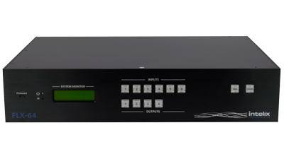 FLX-64 - 6 Input, 4 Output HDMI / HDBaseT Matrix Switcher