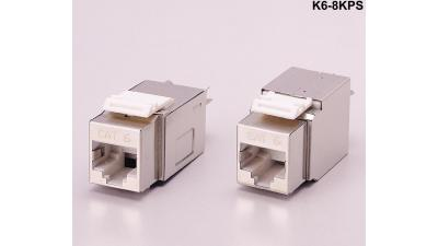 k6 8kps keystone compatible category 6 f utp 90 degree punch down rh libertycable com