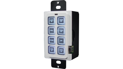 LB-KP8 - Link Bridge Keypad, 8 Keys, RS232 Interface