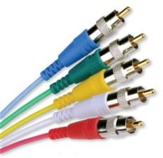 MHR-RCA - RCA plug for Mini High Resolution Coaxial cable