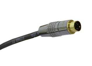 PSVM-M-35 - Liberty Manufactured Plenum rated S-Video male to male cable