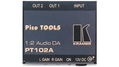 PT-102AN - DA, 1:2 AUDIO KRAMER